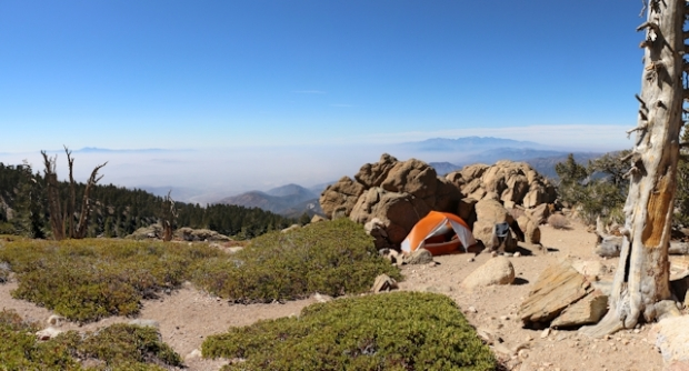 San Bernardino Peak Oct 2016