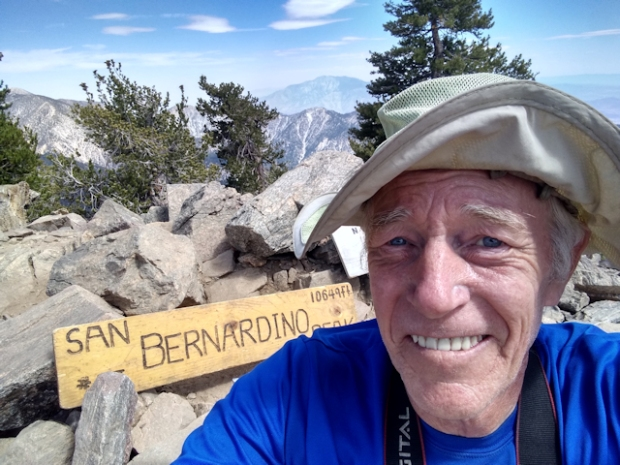 San Bernardino Peak July 2020
